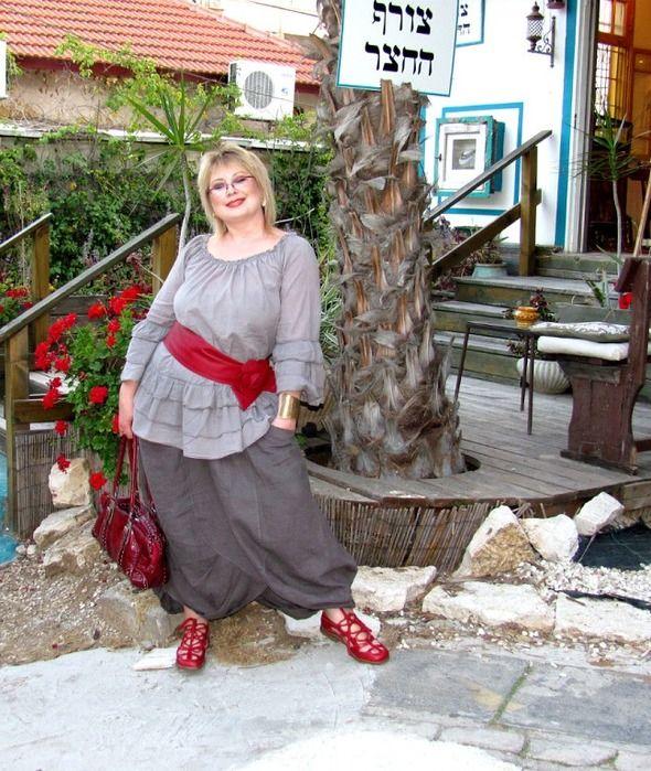 Одежда для полных от Юлии Гурьяновой в стиле бохо
