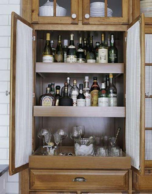 Nützliche Ideen für die Getränke-Bar zu Hause #diy #selberbauen ...