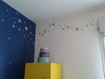 Chambre d 39 enfant pour dormir la belle toile vous for Chambre bebe theme etoile