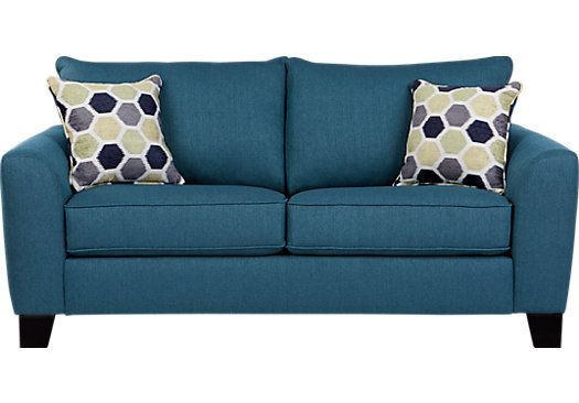 Bonita Springs Blue Sleeper Loveseat . $577.00. 80W x 38D x 39H. Find affordable Sleeper Loveseats for your home that will complement the rest of your furniture.