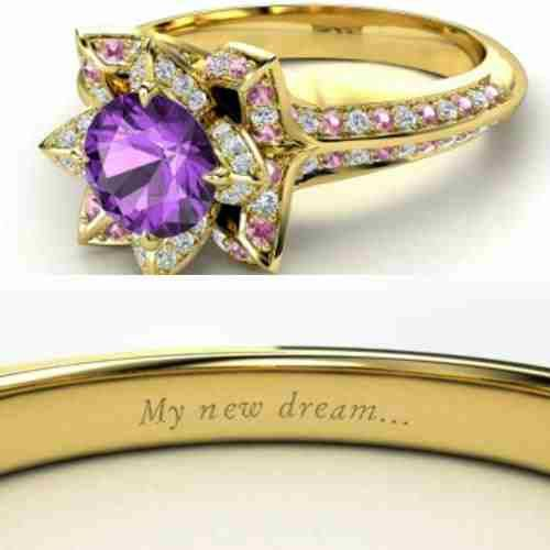 disney rings Rupunzel  Repinned for the soul purpose of changing the tag description that said Pocahontas