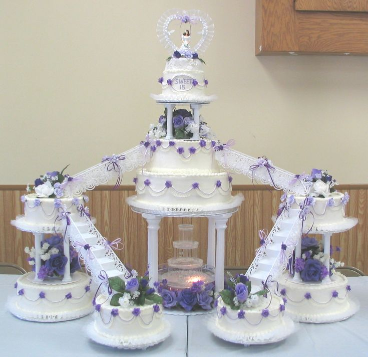 My wedding cake looked just like this but in green and every cake was a different flavor.