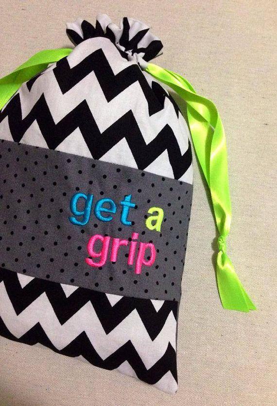 ItemG1 Personalized Gymnastics Grip Bag Get a by ItsAllEyeCandy