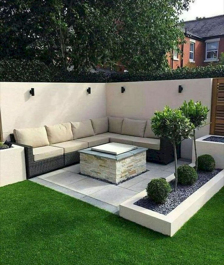 25 Creative Sunken Sitting Areas For A Mesmerizing Backyard Landscape Outdoor Gardens Design Backyard Landscaping Designs Small Backyard Landscaping