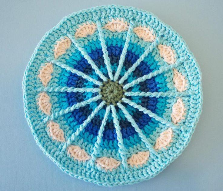 crochet mandala patterns free   ... this!!! http://winkieflash.nl/2013/04/15/free-pattern-spoke-mandala