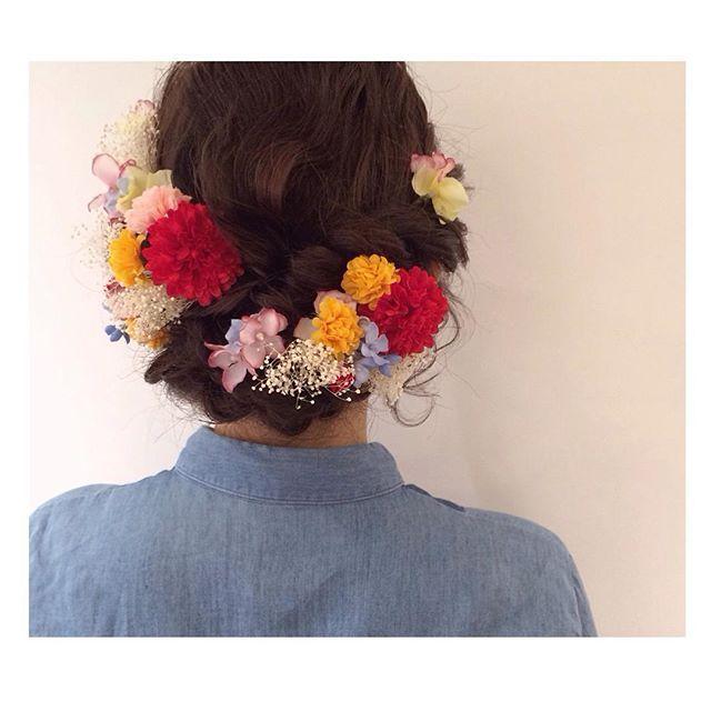 harukaさんありがとうございました♡  成人式の前撮りヘアセット(*^^*) お持ちのヘア飾りとっても素敵でした♡  またお待ちしております♡  #hair#hairarrange#hairstyle#arrange#wadamiarrange#ヘアスタイル#ウェディング#ブライダル#ヘアアレンジ#ヘア#アレンジ#ファッション#ヘアメイク#メイク#愛知#名古屋#美容師#美容室#LOREN#lorensalon