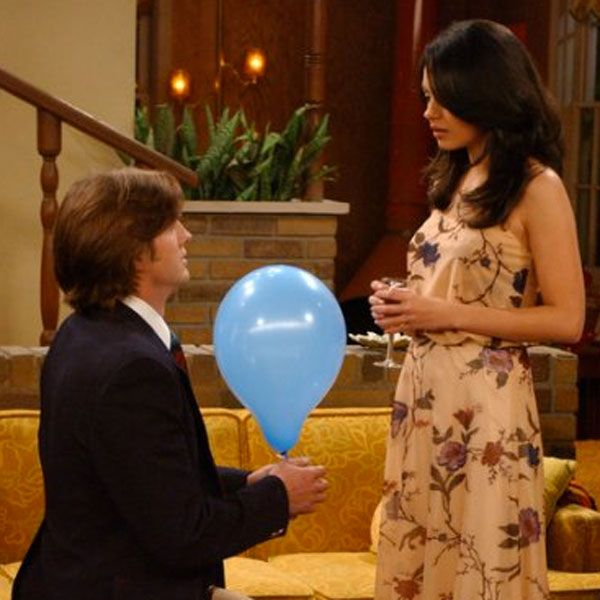 Foreshadowing? Ashton Kutcher and Mila Kunis in 'That 70s Show'