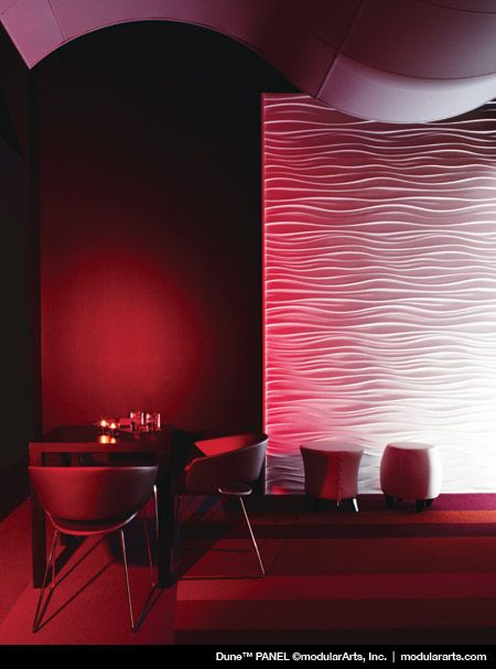 Loving the potential of this product modulararts dimensional surfaces this one dune · interior wallsinterior design3d