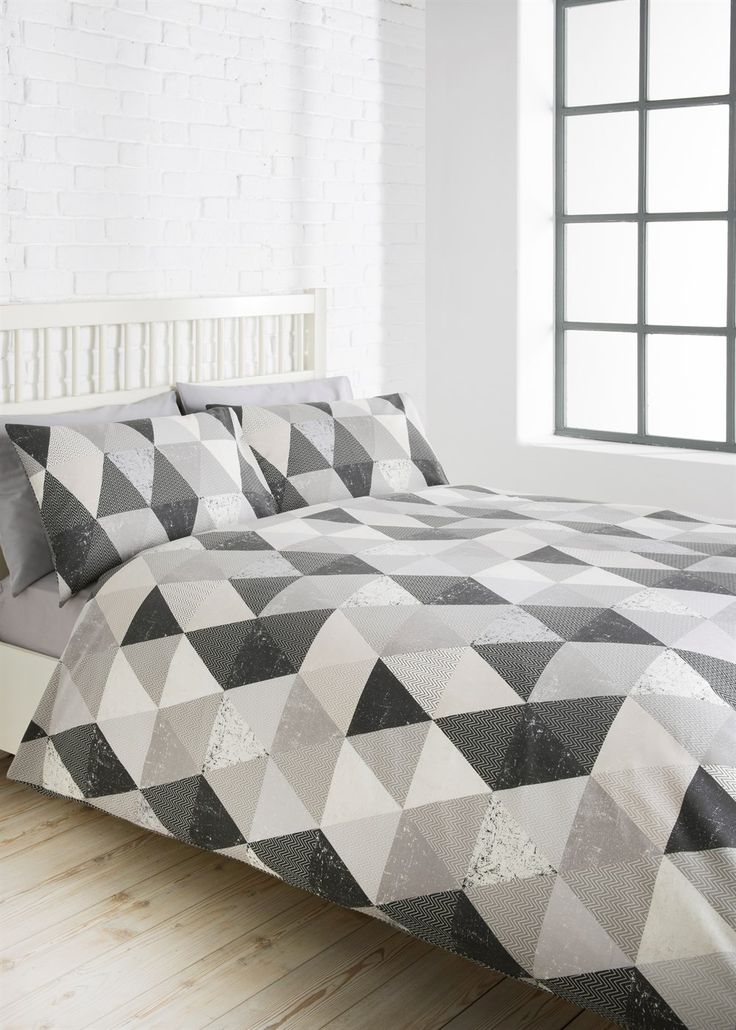 Geometric Duvet Set - Matalan