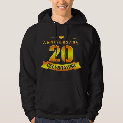 #T-Shirt For 20th Anniversary. Costume For Couple. - #wedding gifts #marriage love couples