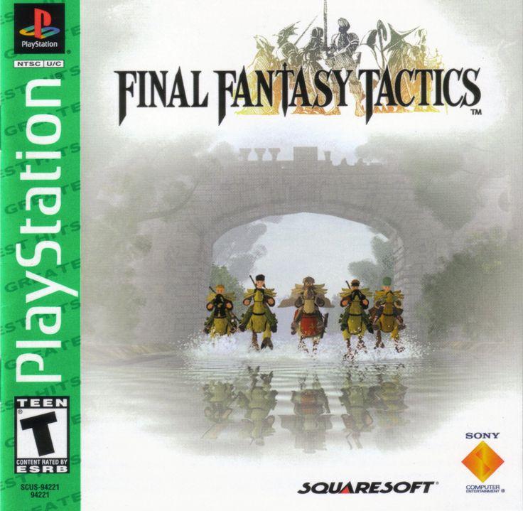 Final Fantasy Tactics PSX cover