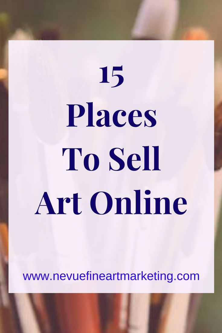 Deciding what site an artist should use can feel overwhelming at first. 15 places to sell art online. Popular between artists and photographers. Start selling.