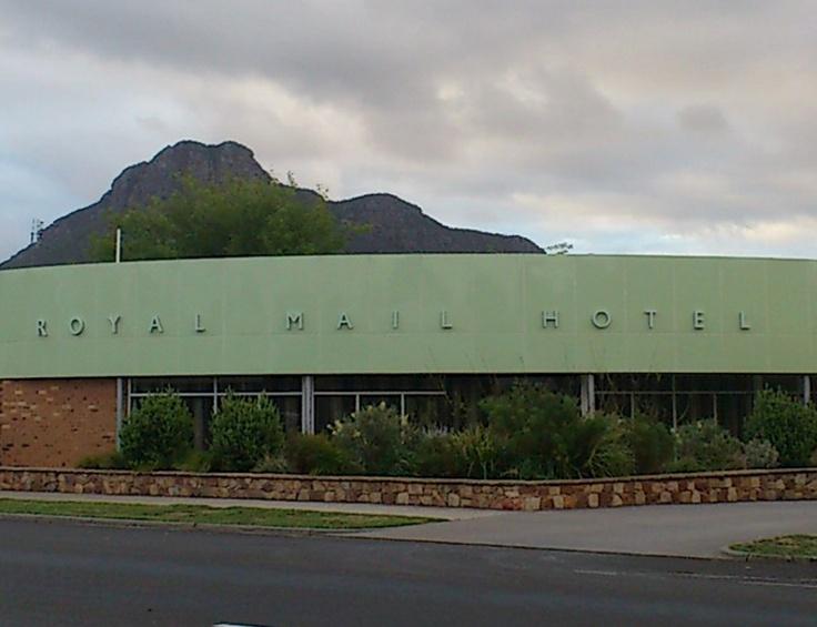 Royal-Mail-Hotel, Dunkeld, External Building ID, backlit, retro style, custom signage