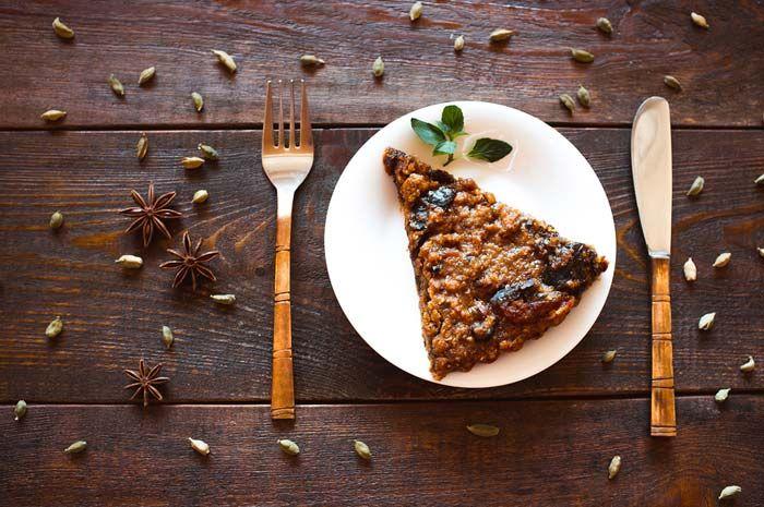 Γλυκιά καρυδόπιτα χωρίς ψήσιμο, συνταγές για χορτοφάγους χωρίς γλουτένη