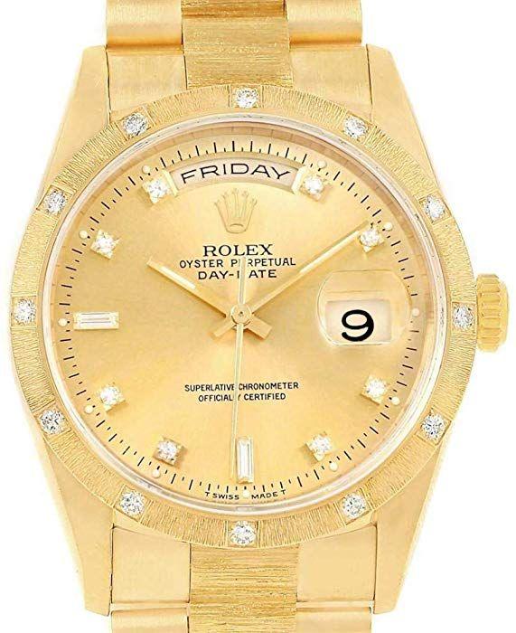 Amazon com: Rolex Day-Date Automatic-self-Wind Male Watch