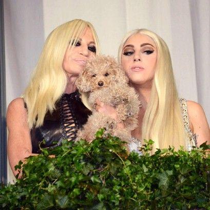 Donatella Versace and Lady Gaga, October 1st 2012