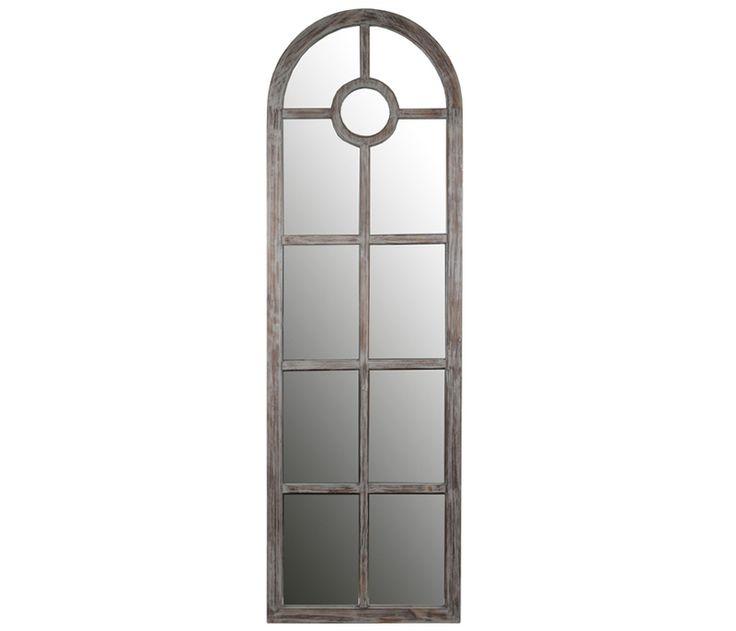 Living Room Vintage Arch Mirror Boston Interiors Grey Wash Arches Wall Decor Mirrors