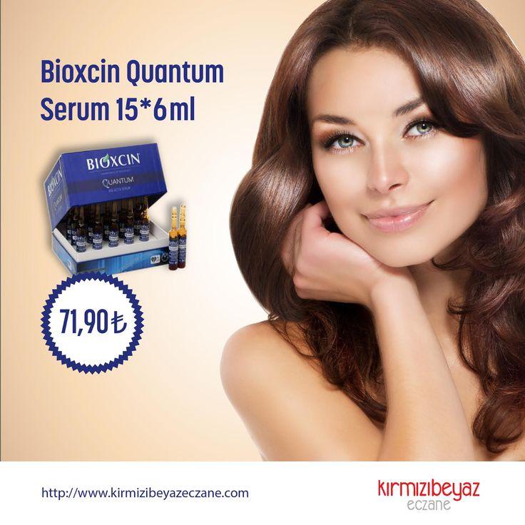 Gür, dökülmeyen ve ışıldayan saçların formülü Bioxcin'de: