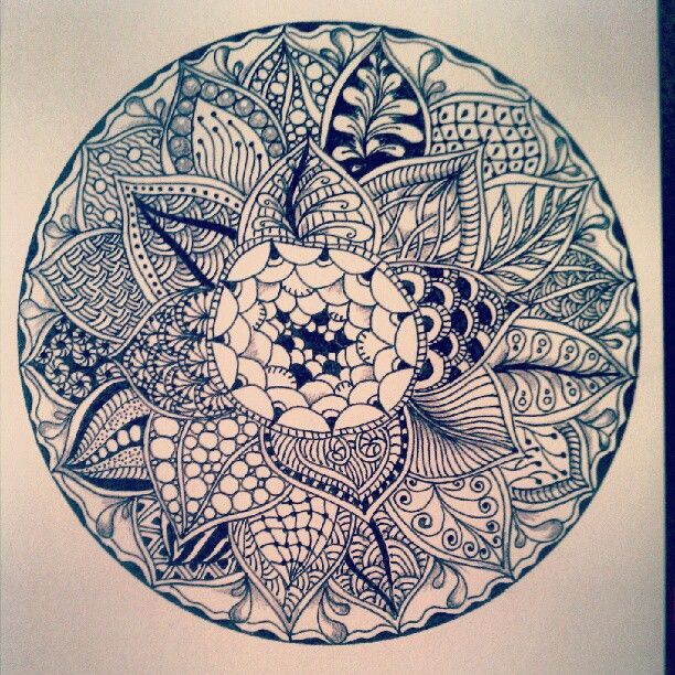 1000+ images about Zentangle patterns on Pinterest