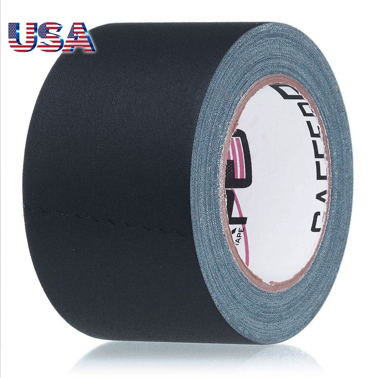 REAL Professional Premium Grade Gaffer Tape by Gaffer Power - Made in the USA - Heavy Duty Gaffers Tape - Non-Reflective - Multipurpose - Better than Duct Tape! (3 Inch X 30 Yards, Black)