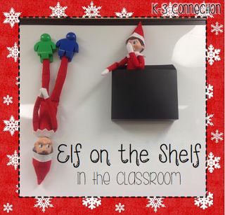 Elf on the Shelf in the Classroom
