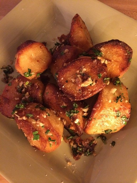 Crispy Goose Fat Potatoes. Chef Eric shows you how to make these savory potatoes. #cheferic #vacmasterfresh #goosefat