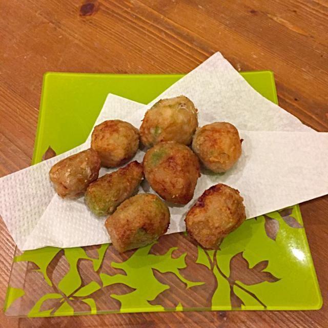 蒸した里芋にしっかり下味をつけて地粉を付けて揚げました! - 8件のもぐもぐ - 里芋のから揚げ(マクロビ) by moka7