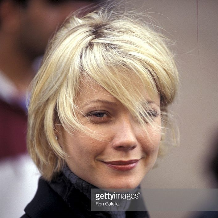 """Happy birthday to #GwynethPaltrow who is 44 today! Here's a #fav photo of the beautiful actress while on location for movie """"A Perfect Murder"""" in Oct 1997. She won an #oscar for #bestactress for her role in #ShakespeareinLove in 1998  #singer #foodwriter #se7en #ironman #bradpitt #aperfectmurder #bornonthisday#emmyawardwinner #gwynethpaltrow #blythedanner #celebrity #films #goop #famous #academyawardwinner #celebrities #cinema #film #ron_galella"""