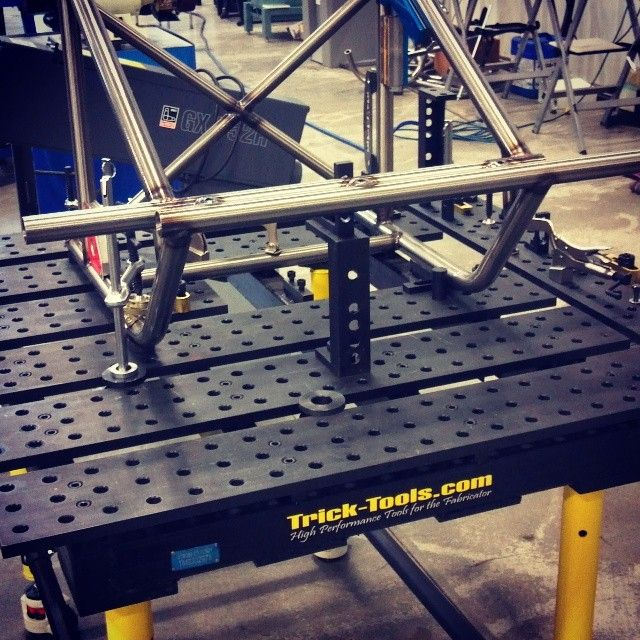 Strong Hand BuildPro jig tables can be rearranged and