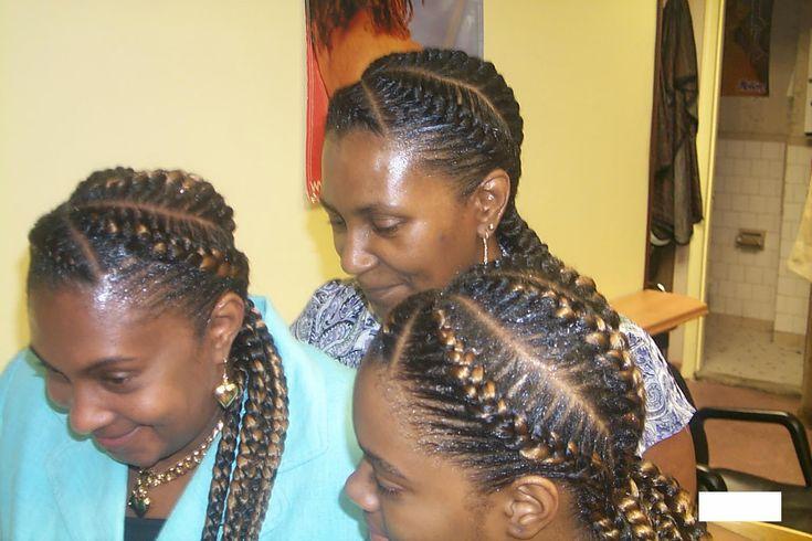 African American Hair Weaves Styles: African Braiding Gallery