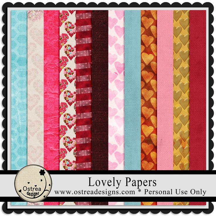 Lovely Papers Paper Pack