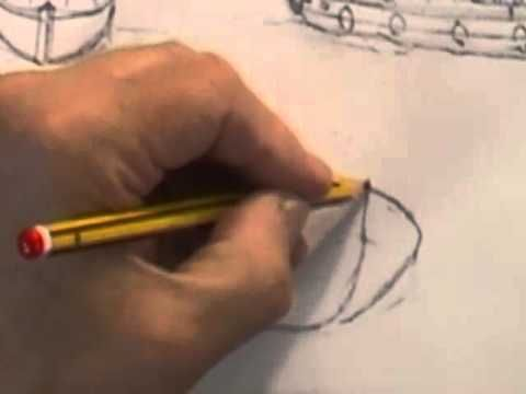 Watercolour Water Lesson - Figure of 8 Boats (Part 2) - YouTube