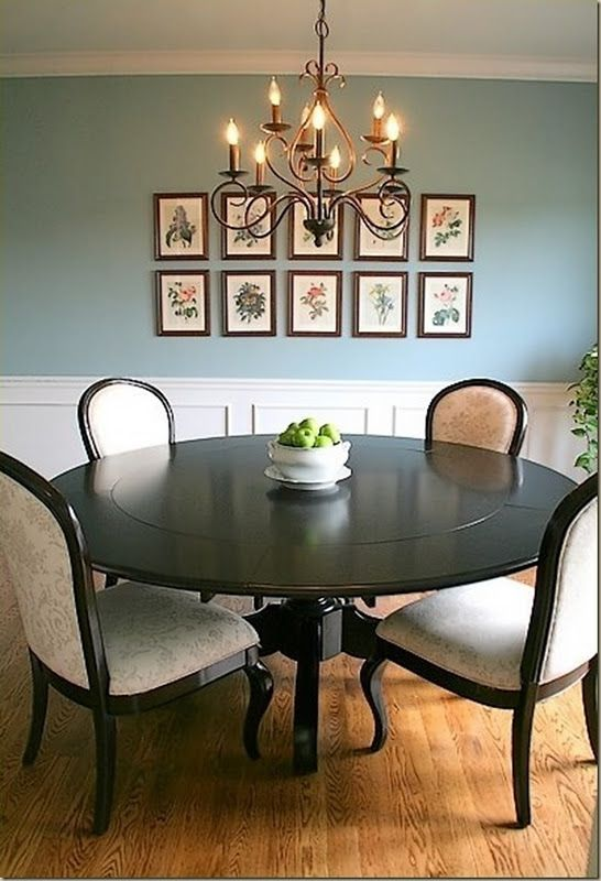 Sherwin Williams Interesting aqua - cool color and like the sinple framed prints