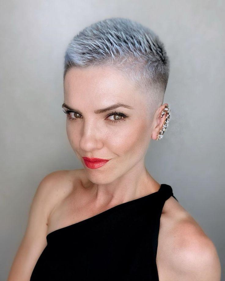 Pin von Jacqueline auf Short or no hair | Ganz kurze haare