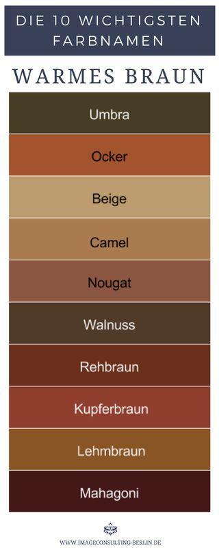Warme Brauntöne Sind Umbra Ocker Beige Camel Nougat Walnuss
