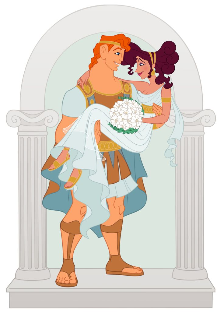 "Disney Weddings Contest: Immortal Love by Wickfield.deviantart.com on @DeviantArt - Hercules and Megara from ""Hercules"""
