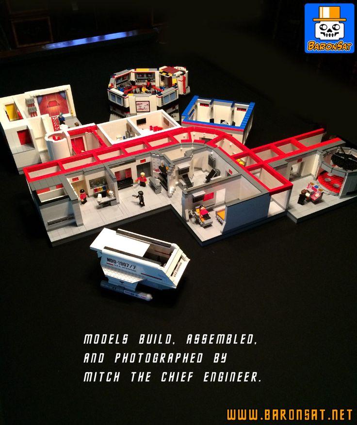 PAGE DE CREATIONS PERSONNELLES EN LEGO SUR LE MONDE DE STAR TREK - CUSTOM LEGO STAR TREK MODELS