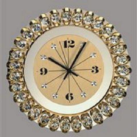 Preciosa - pozlacené hodiny