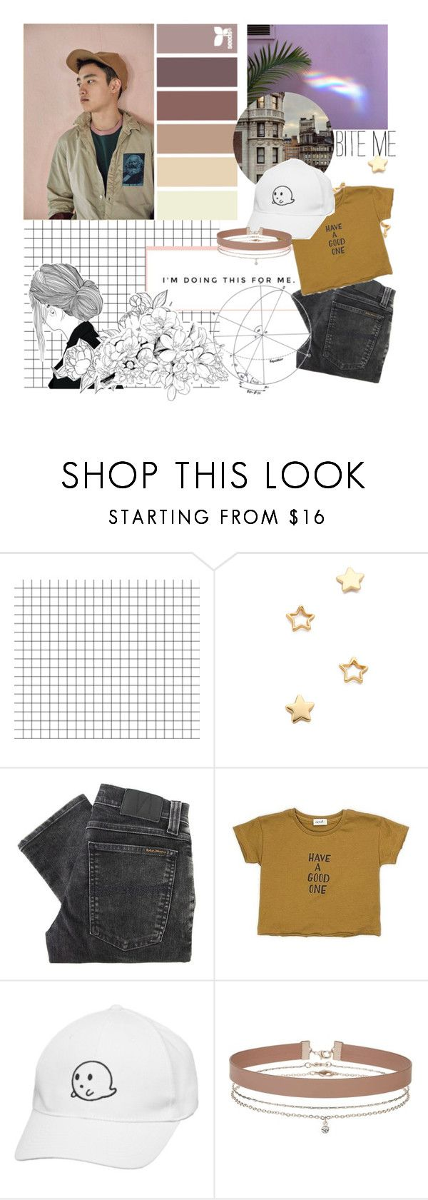 """""""I'm Doing This For Me"""" by lifeisaheadofus ❤ liked on Polyvore featuring Gorjana, Nudie Jeans Co. and Miss Selfridge"""