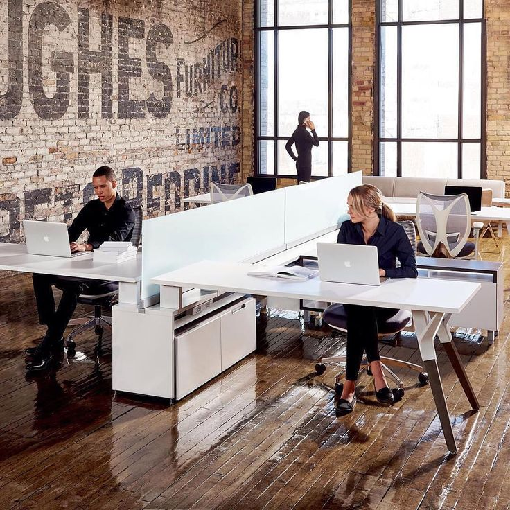 25 best ideas about open office design on pinterest for Long narrow office layout