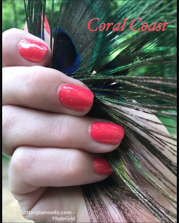 Color Street - Coral Coast | Color street nails in 2019 ...