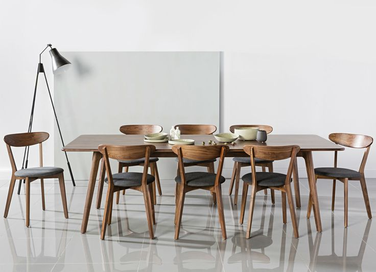 Magnus Dining Table - Solid Walnut - 240x100cm - ICON BY DESIGN