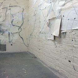 Rachel Renwick, My Cell (detail), Prison Drawing Project, 2016