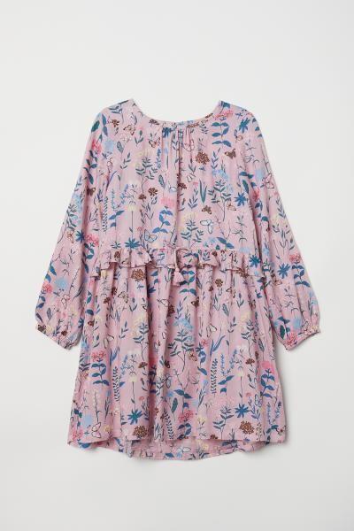 3c065cf13c37 Mönstrad klänning | Isabelle & Emelie | Girls dresses, Dress ...