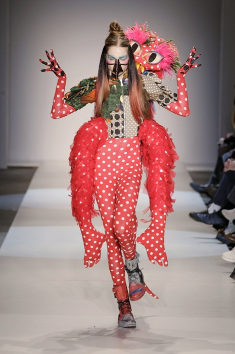 Fashion Mutant by Bas Kosters, fall/winter 2011