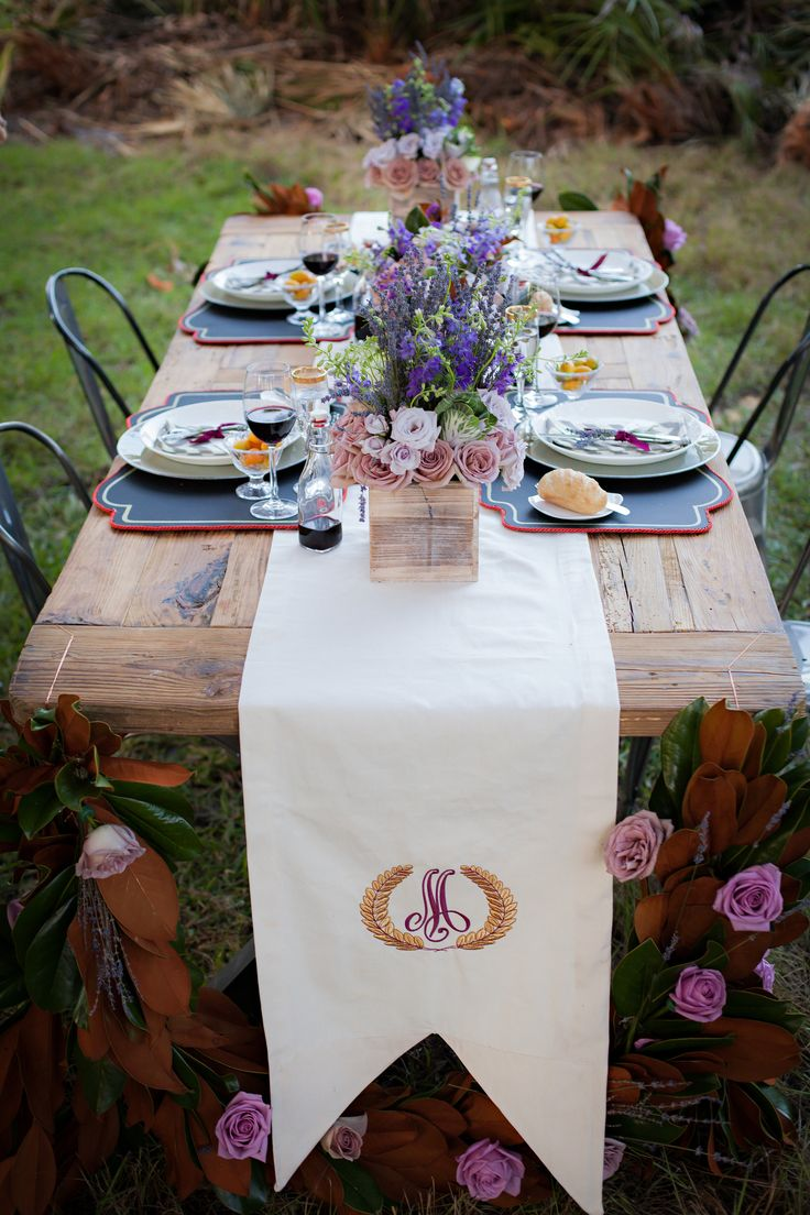 During An Outdoor Wedding Reception With A Rustic Feel, The Wedding Experts  At The Ritz