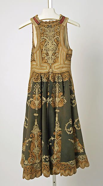 Coat 19th century Greek wool, silk, metallic