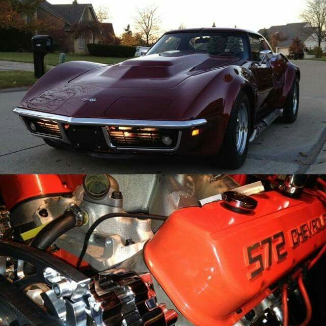 69 stingray corvette /572ci