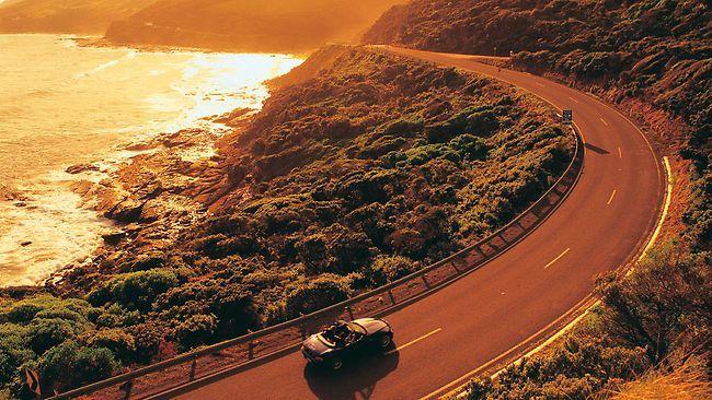 Sunset at Great Ocean Road