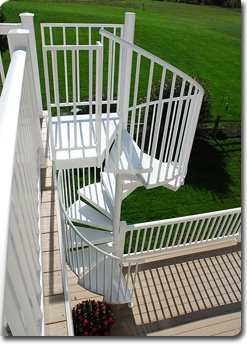 Aluminum Spiral Stairs Spiral Staircases